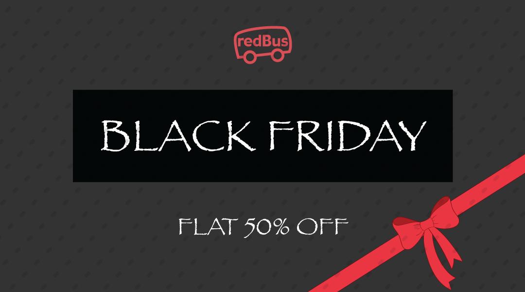 Black Friday deals redbus