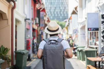 Singapore Solo Traveler