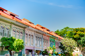 Singapore heritage houses