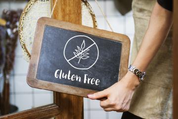 Gluten free sign Singapore