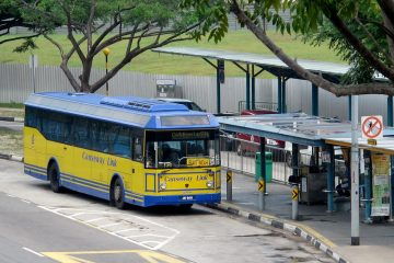 causeway link bus in singapore