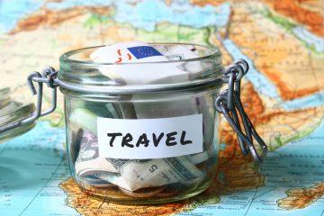Travel budget - vacation money savings