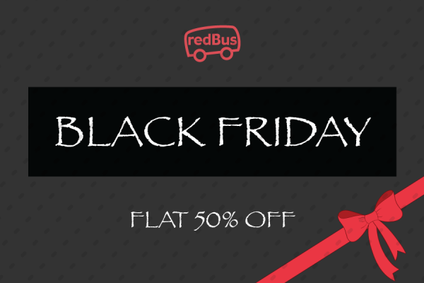 Black Friday deals redbus
