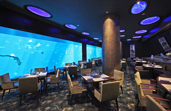 Ocean Restaurant, Cat Cora, Sentosa Gateway